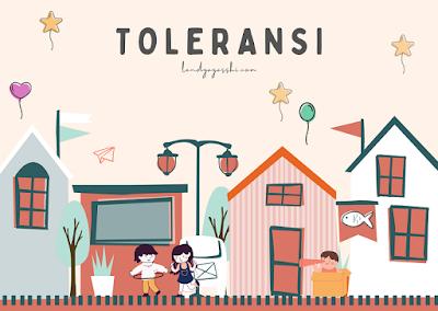 Mengenalkan Toleransi pada Anak