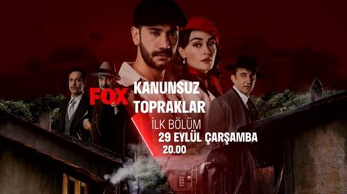 Kanunsuz Topraklar Turkish Series