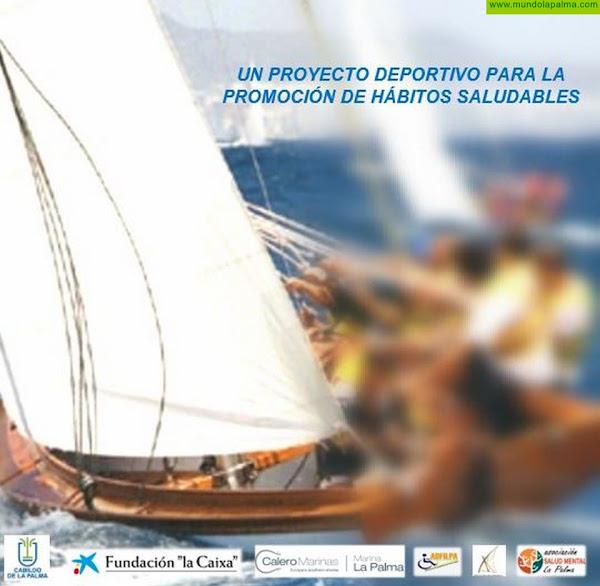 Salud Mental La Palma y ADFILPA colaboran con el el Club de vela Benahoare para fomentar hábitos de vida saludable
