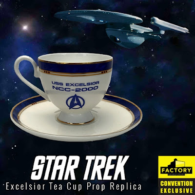 San Diego Comic-Con 2020 Exclusive Star Trek Excelsior Tea Cup Prop Replica by Factory Entertainment