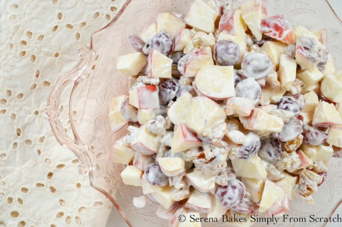 Lightened Waldorf Salad is a timeless classic dish for picnics and potlucks.