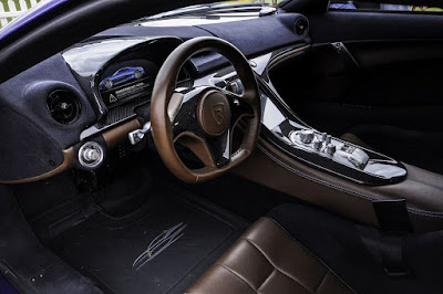 Rimac Concept One Dashboard - Carshighlight.com