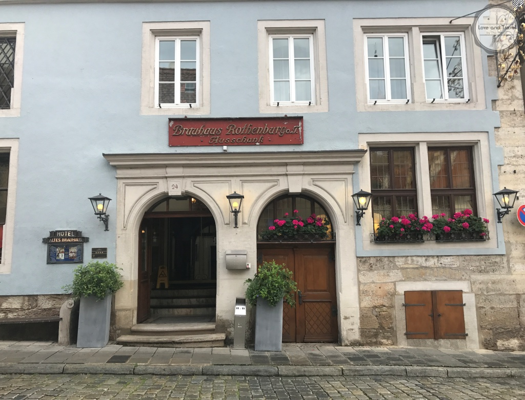 Rothenburg Ob Der Tauber, na Rota Romântica da Alemanha - Hotel Altes Brauhaus