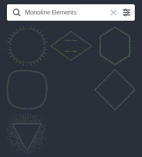 Monoline Elements