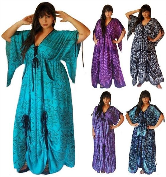 Indonesian Model Dress Batik Bali Modern Cantik