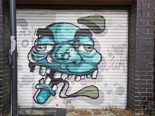 Ballarat Street Art | Mural by CAX ONE at Broken Arrow Tattooing