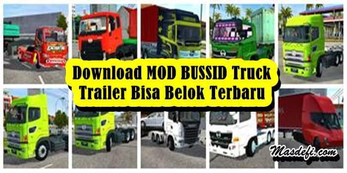 mod bussid trailer
