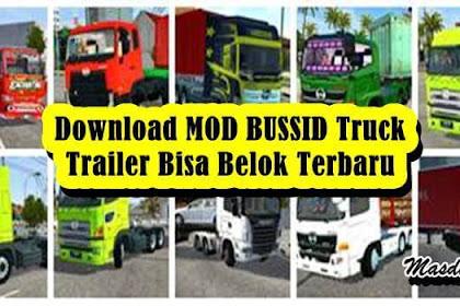 10+ Download MOD BUSSID Truck Trailer Bisa Belok Terbaru V3.6.1
