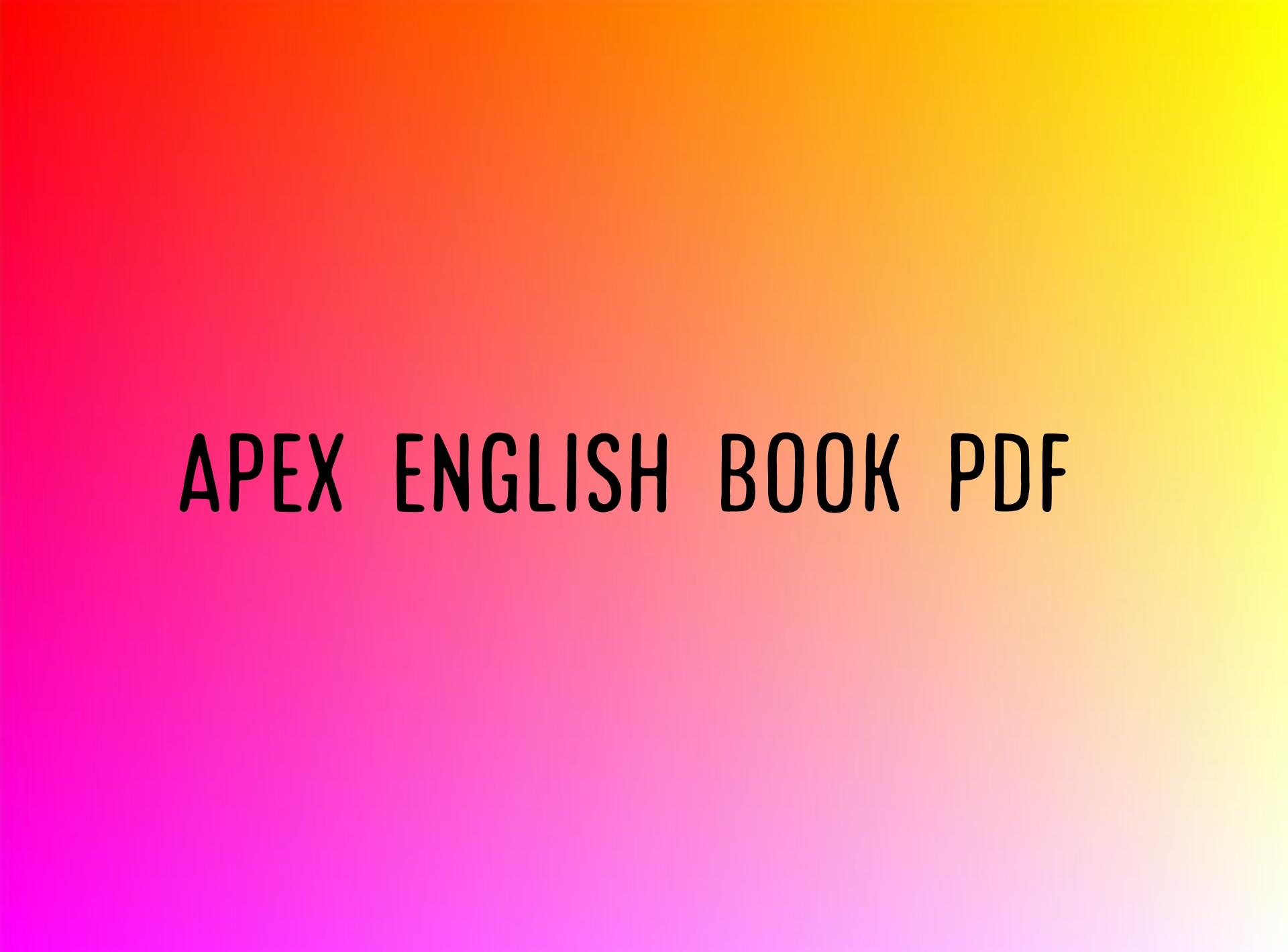 apex english book pdf download link, apex english book pdf, apex english book pdf, apex english book