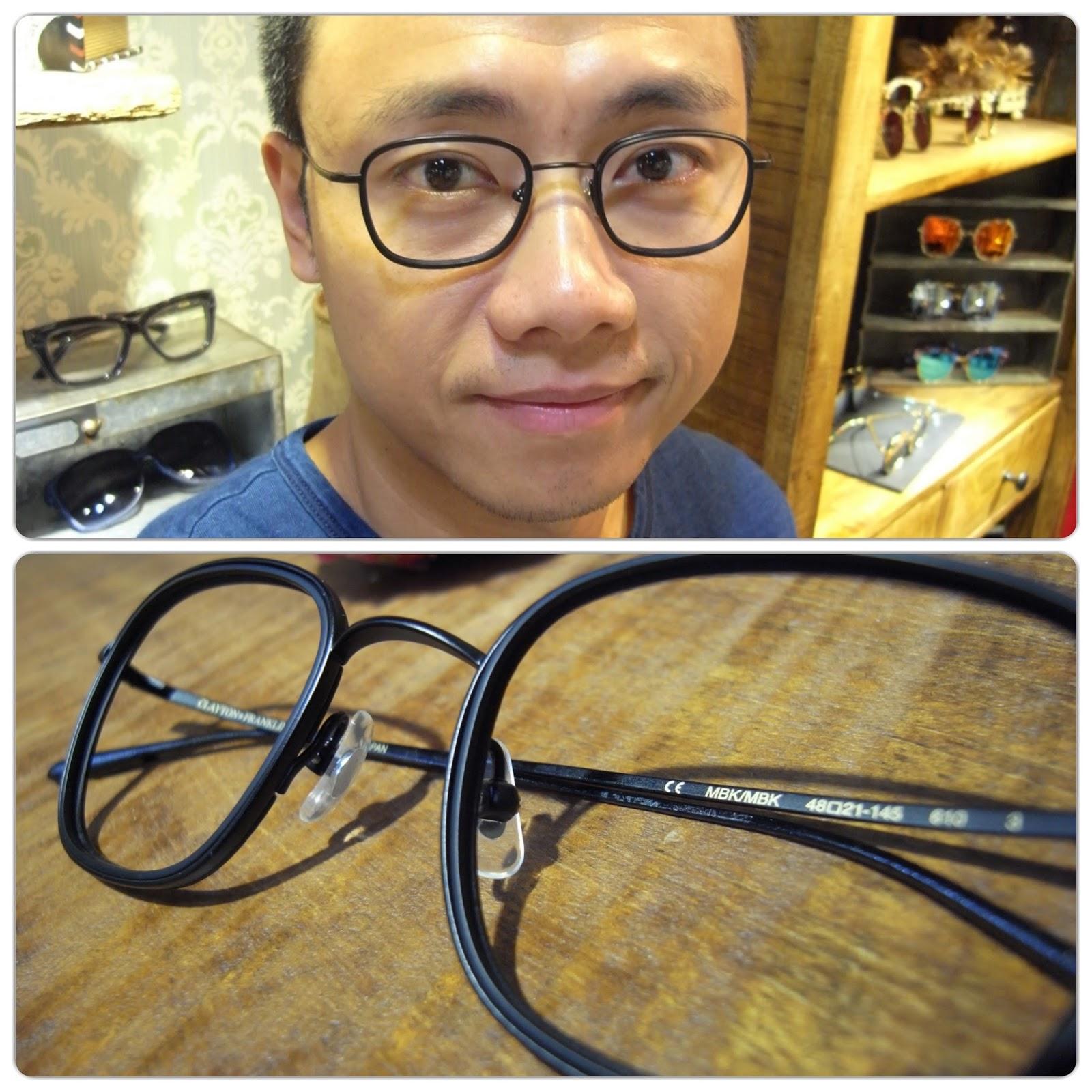 集框眼鏡行: CLAYTON FRANKLIN 輕量化的日製經典 集框眼鏡行