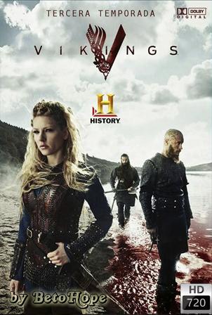 Vikingos Temporada 3 [720p] [Latino-Ingles] [MEGA]