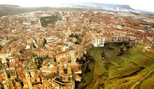 Soria - Panorámica aérea