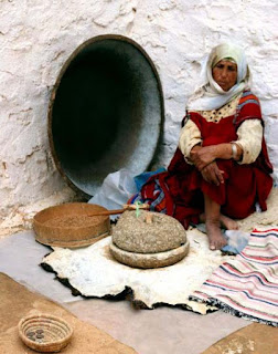 Single woman in the capital city Tunis, Tunisia 2008