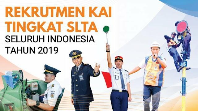 Rekrutmen Eksternal Tingkat SLTA, D3 & S1 Karyawan PT Kereta Api Indonesia (Persero) Bersumber Dari Job Fair UNS Tahun 2019