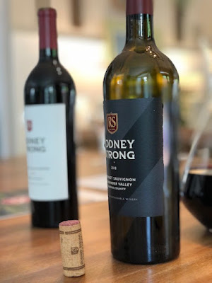 Rodney Strong Vineyards wine close up
