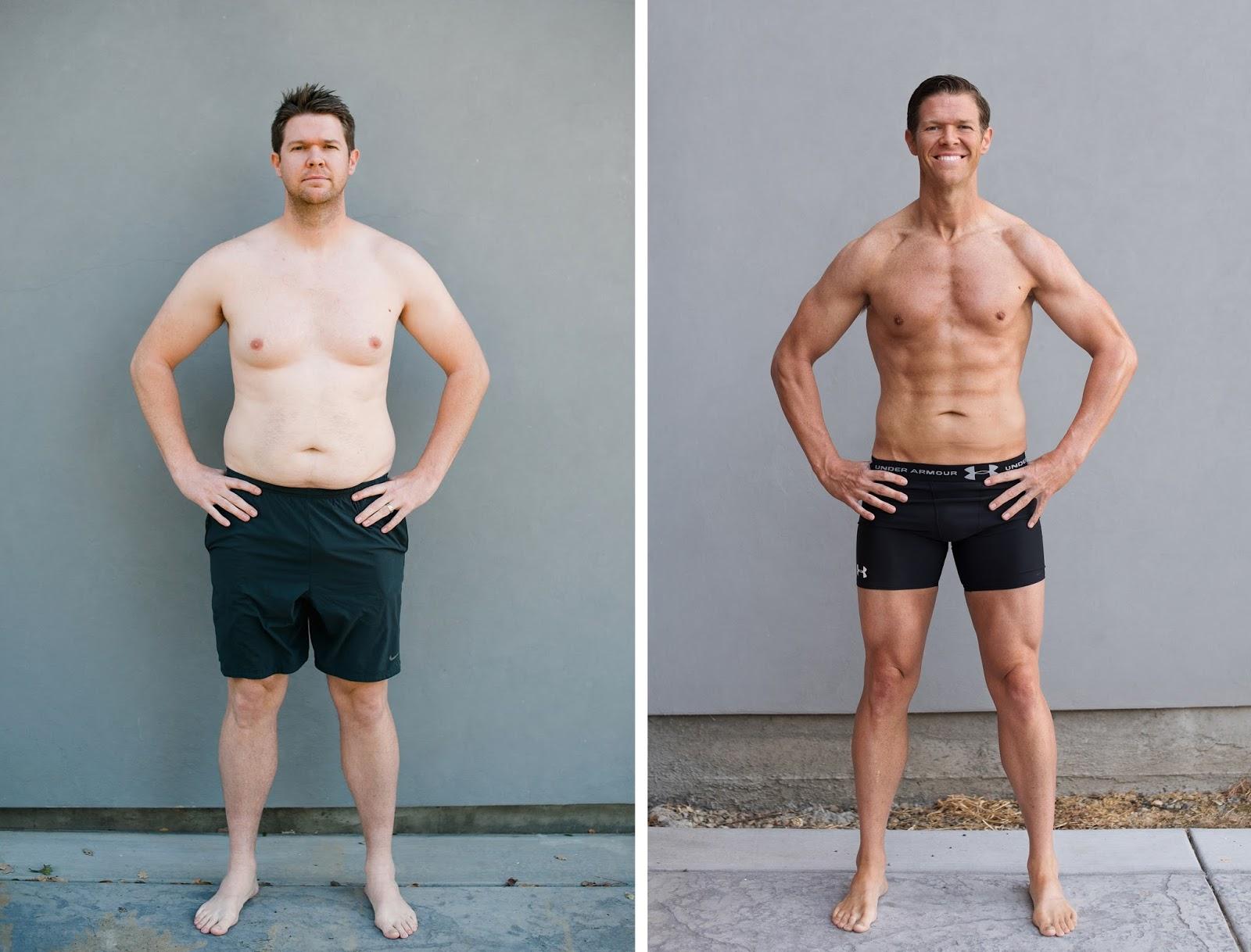 Похудеть Мужчины Фото. Шесть мужских историй из серии