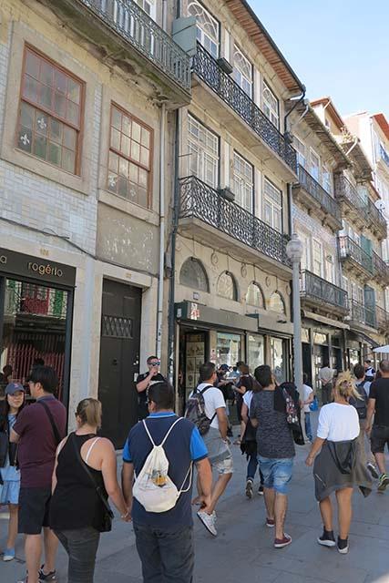 Shop on the pedestrianized Rua das Flores