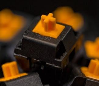 Razer Orange Mechanical Switch