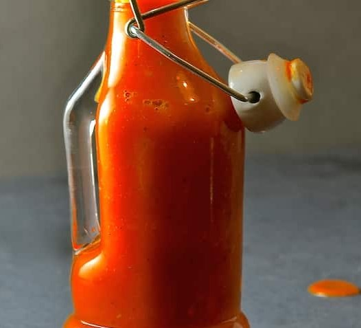 Fiery Habanero Hot Sauce #dinner #dressing