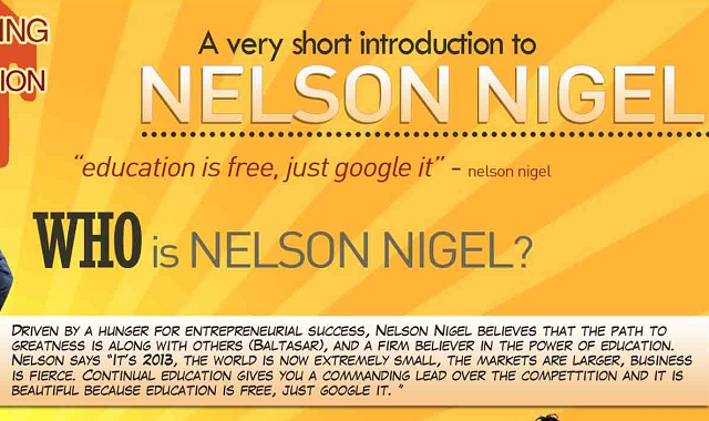 All about Nelson Nigel