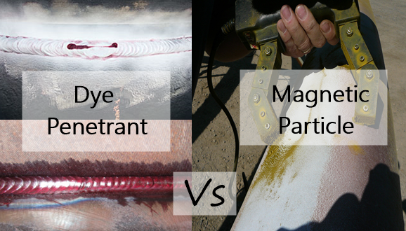 Comparison Between Dye Penetrant and Magnetic Particle Examination