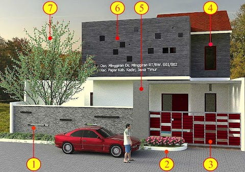 Desain Rumah Cantik Minimalis Hub 0823.3333.9949