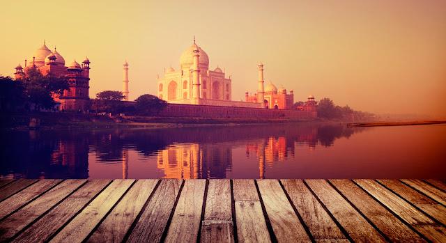taj-mahal-view-from-yamuna, heritageofindia, Indian Heritage, World Heritage Sites in India, Heritage of India, Heritage India