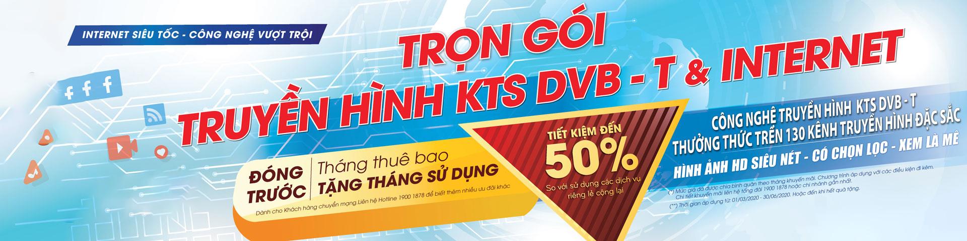 Gói cước Internet SCTV Thanh Hóa