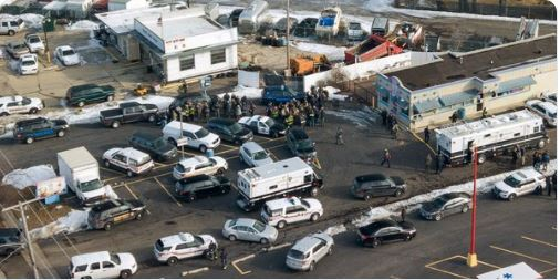 Aurora shooting: Gunman who killed five people at US warehouse was just fired by employers says police