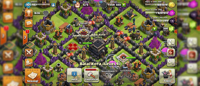 clash of clans bahasa indonesia