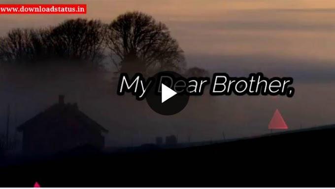 Happy Birthday Brother Whatsapp Status Video Download - Happy Birthday Status