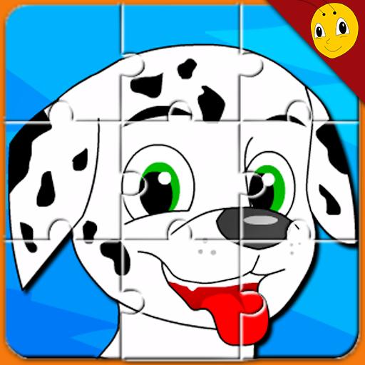 Bermain Jigsaw puzzle Hewan