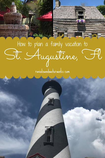 things to do in st. augustine, hotel recommendations for st. augustine with beach access