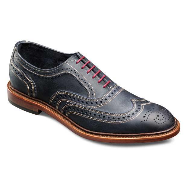 Red Wingtip Shoes Allen Edmonds
