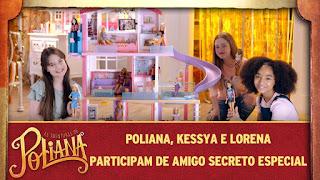 Poliana, Kessya e Lorena participam de amigo secreto especial