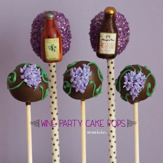 I'm going to make these fun Wine Bottle Cake Pops for my next party. The guests are going to love them!