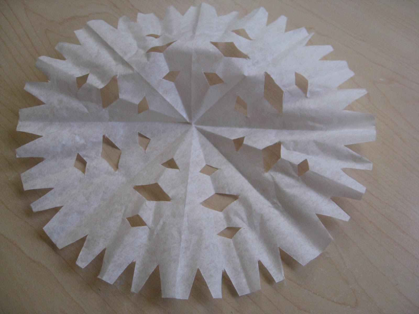 Ot Cafe Scissor Skills Snowflakes