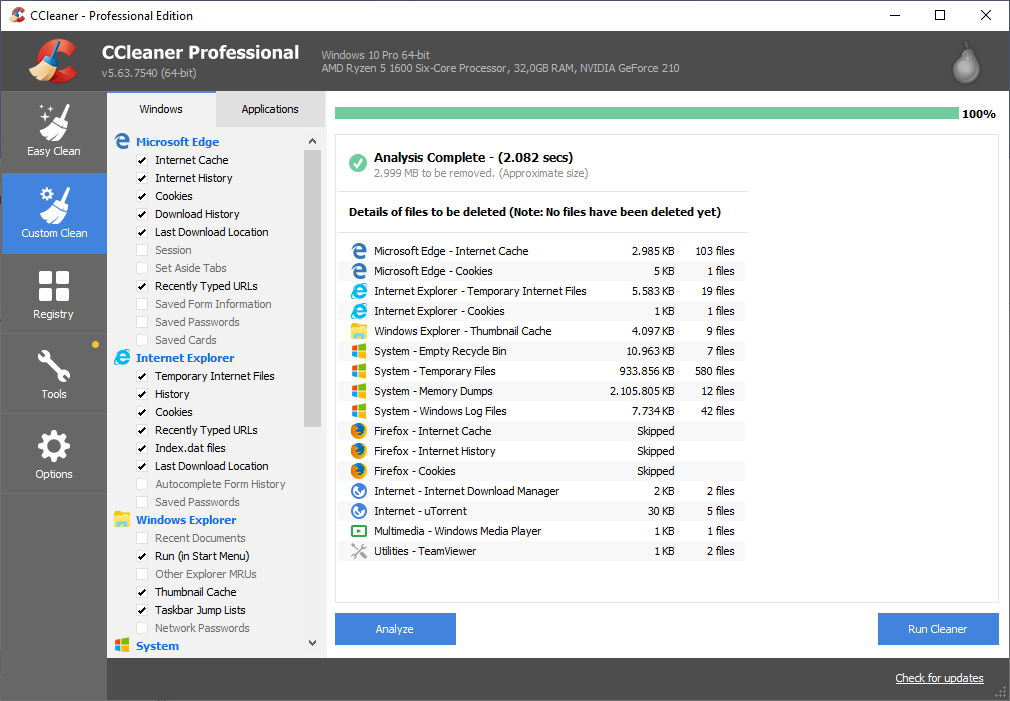 CCleaner v5.70.7909 All version » 4DOWNLOAD
