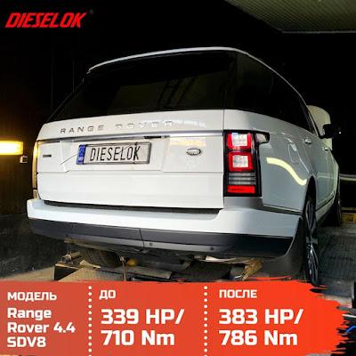 Range Rover 4.4SDV8 ChipTuning by Dieselok