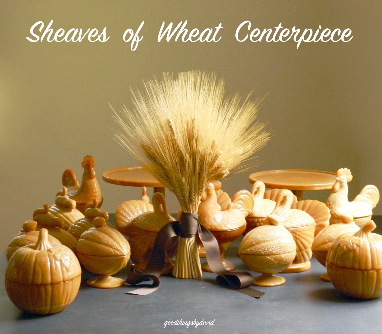 Good Things By David Sheaves Of Wheat Centerpiece