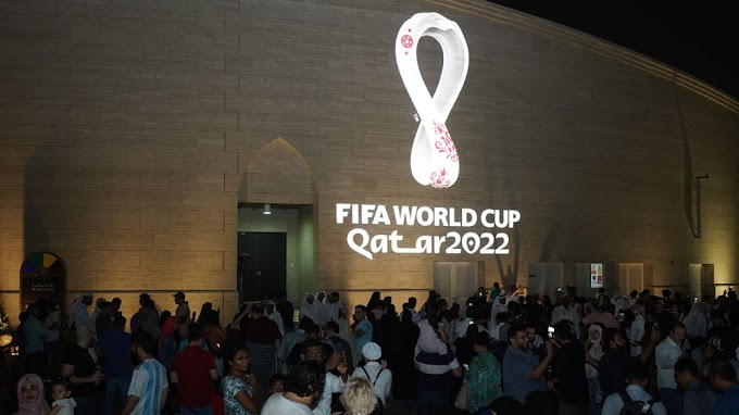 Qatar unveils 2022 FIFA World Cup logo round the globe