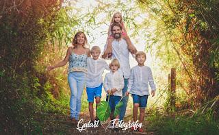 Fotografía de familia. Galart Fotógrafos