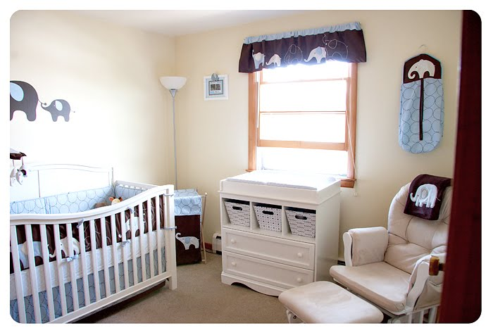 Our Little Elephant Themed Nursery Is Just About Ready To Go All Kudos Truly My Hubby Who Did Such A Great Job Putting Everything Together And