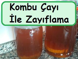Kombu Çayı İle Zayıflama