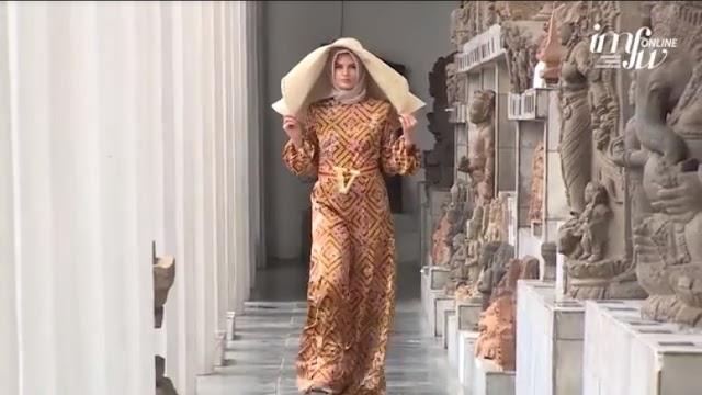 Desainer Amerika Veronica Adamo Perkenalkan Koleksi 'Cherry Blossom' di IMFW 2020