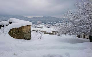 Καλυμμένο από χιόνι το 51% της χώρας – Στους -19 η θερμοκρασία στην Πτολεμαΐδα (φωτογραφίες)