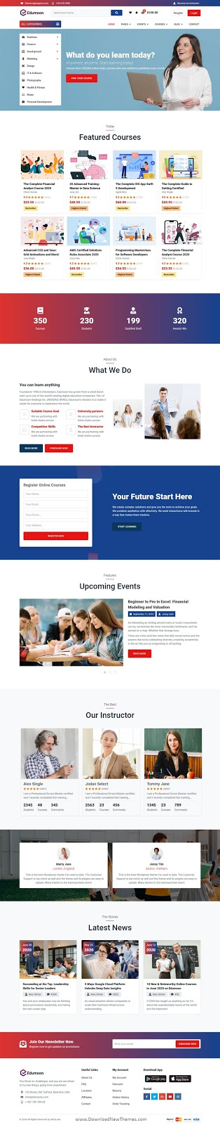 Download Education Template