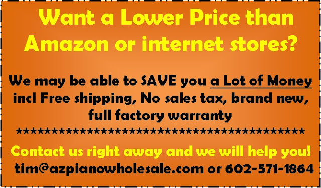lower prices than Amazon and internet stores