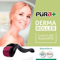 Derma Roller, Ref. 2075, fabricados con Titanio, Talla 0,5 mm, de color Negro, 540 Agujas, Acne Arrugas Cicatrices