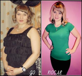 Отзыв и фото Насти после диеты